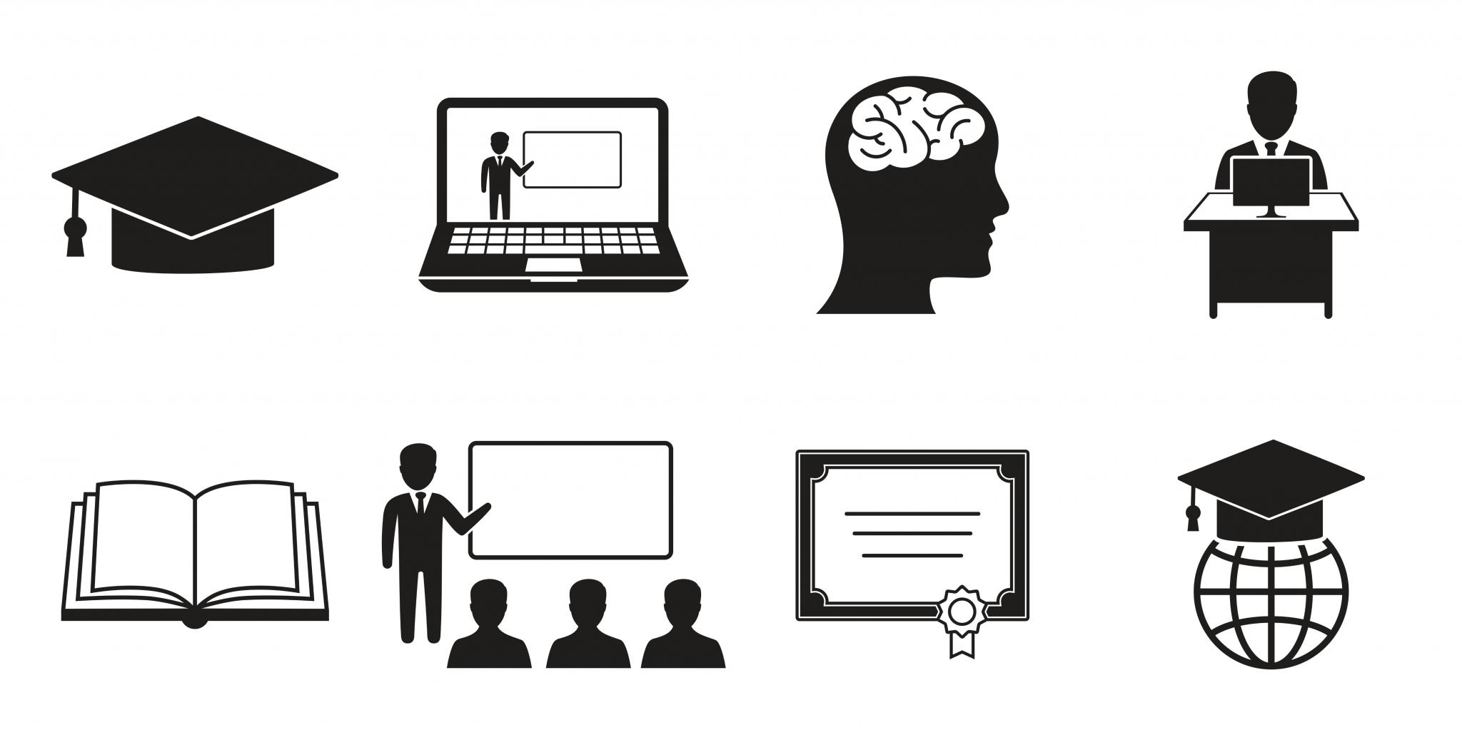 Privatschule Carpe Diem Flexible Schooling Icons